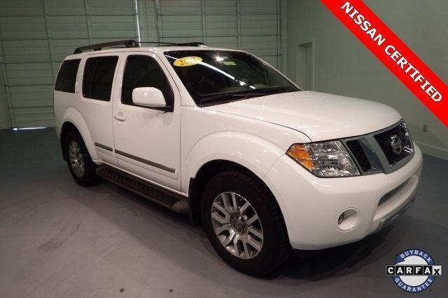 2012 Nissan Pathfinder 4D Sport Utility LE