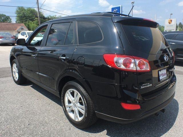 2012 Hyundai Santa Fe Sport Utility Limited