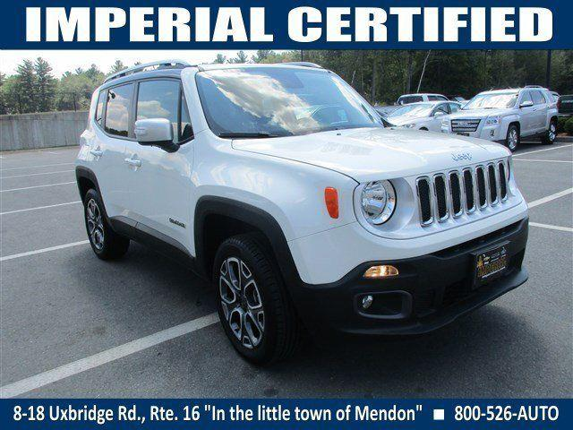 2015 Jeep Renegade Sport Utility Limited