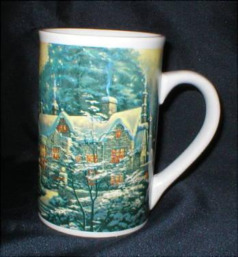 Vtg. Thomas Kinkade Mug -