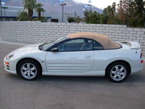 2001 mitsubishi eclipse spyder convertible gt for sale in cathedral city california classified. Black Bedroom Furniture Sets. Home Design Ideas