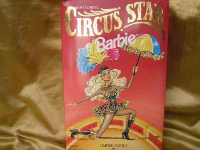 1994 FAO SCHWARZ CIRCUS STAR BARBIE # 13257