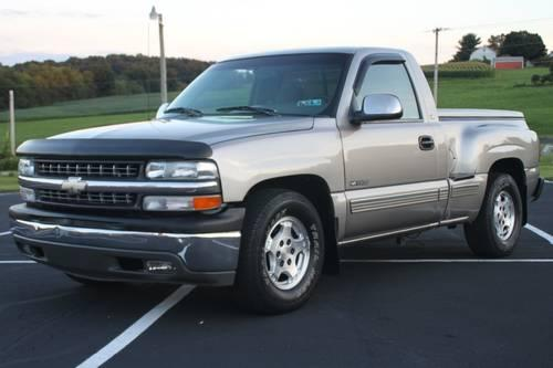 2000 chevy silverado 1500 stepside 2wd gas saver for sale in frystown pennsylvania classified. Black Bedroom Furniture Sets. Home Design Ideas