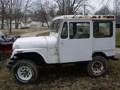 1975 postal jeep stock 4x4 rare for sale in bartlettsville. Black Bedroom Furniture Sets. Home Design Ideas
