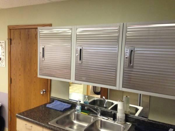 Stainless Steal Cabinets, Garage Storage Units LIKE NEW