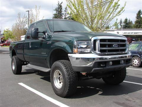 2001 Ford F350 Super Duty Super Cab Pickup Long Bed
