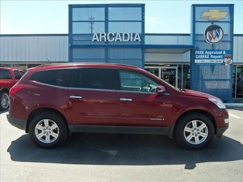 2009 chevrolet traverse suv lt for sale in arcadia florida classified. Black Bedroom Furniture Sets. Home Design Ideas