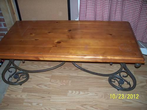 Used Coffee and End Tables, Set of Three