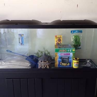 Fish Tank 60 Gallon Tall Bowfront Aquarium For Sale In