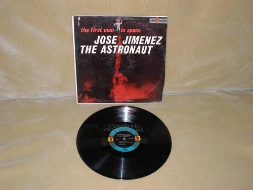 JOSE JIMENEZ THE ASTRONAUT VINYL ALBUM THE FIRST MAN IN SPACE