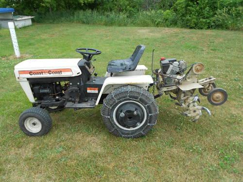 MTD 990 Garden Tractor And Tiller And Mower Deck