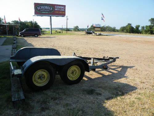Bob Cat/small Skid trailer