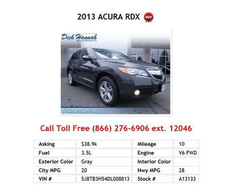 2013 Acura on 2013 Acura Tl Technology For Sale In Portland  Oregon Classified