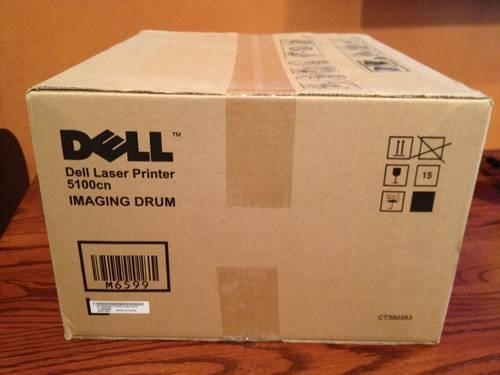 Genuine Dell 5100 cn toner and Imaging Drum