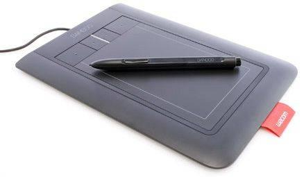 Wacom Bamboo Pen and Touch Graphics Tablet