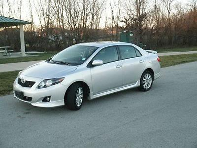 ONE OWNER, 2009 TOYOTA COROLLA