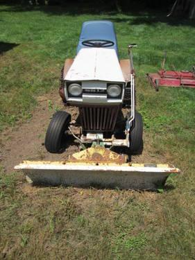 Vintage Sears Ss12 Lawn Tractor With Attachments For Sale In Clarks Green Pennsylvania