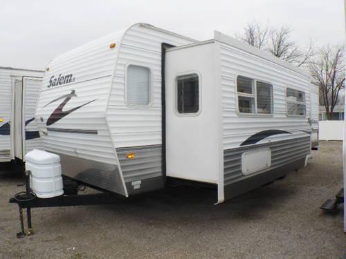 2007 salem le 29flss travel trailer slide front living - Front living room travel trailers ...