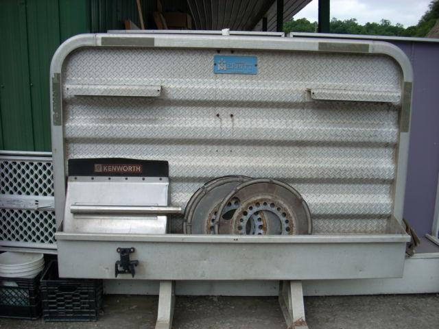 used headache rack tractor trailer good condition