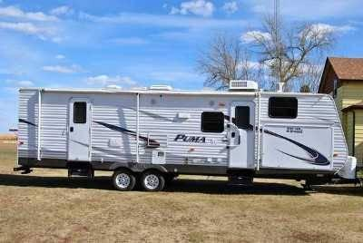 2011 Palomino Puma M30KFD Travel Trailer in Rice Lake, WI