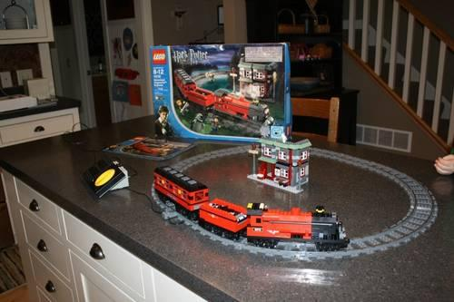LEGO 4512 Cargo Train 9V Set