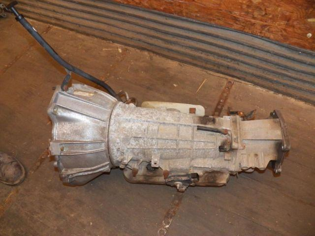 2001 Dodge Durango Transmission & Transfercase