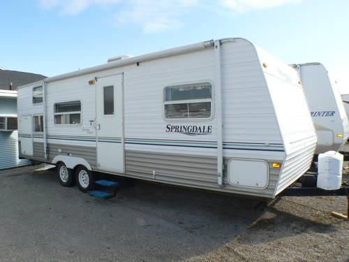 2004 Keystone Springdale Clearwater 260tb Travel Trailer