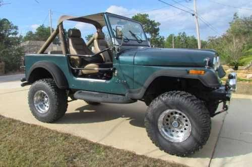 1982 jeep cj7 classic truck in navarre fl for sale in gulf breeze florida classified. Black Bedroom Furniture Sets. Home Design Ideas