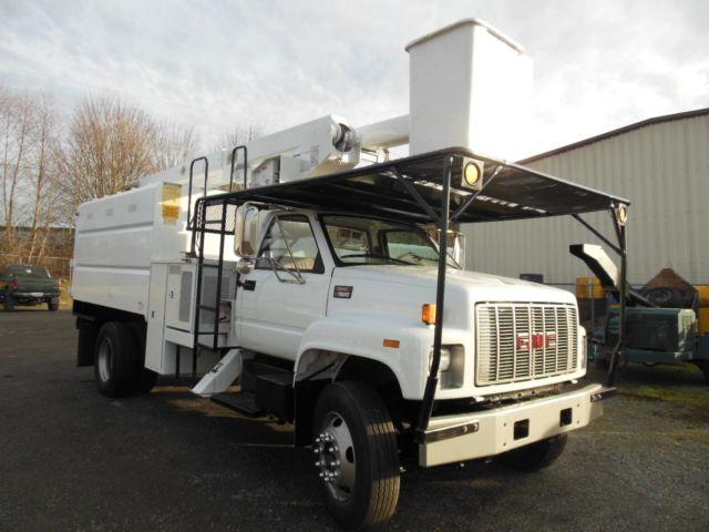 2000 GMC 7500 chipdump truck (Stock # 14-066)