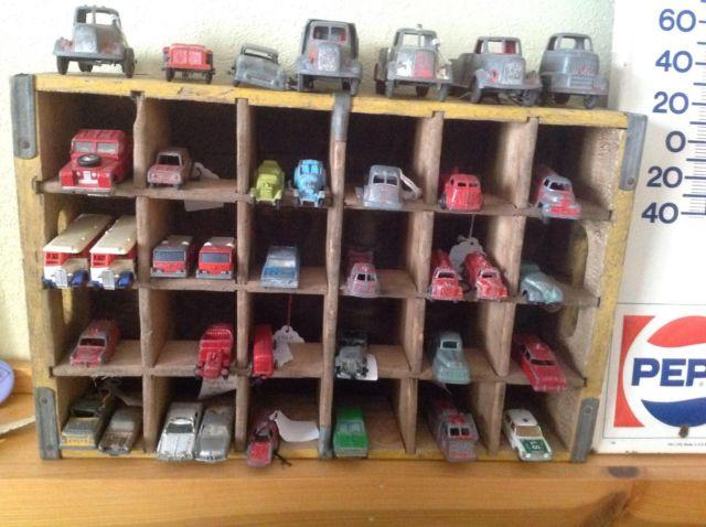 Old cars toys and trucks all for