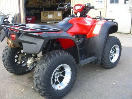 2009 Honda TRX500FA Rubicon