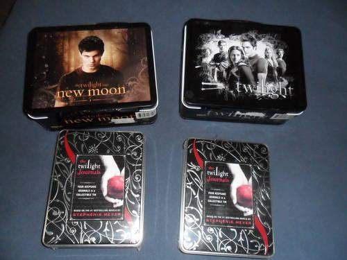 Twilight Lunch Boxes & Twilight Journals sets