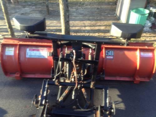 Western snow plow 81/2 ultra mount with controls