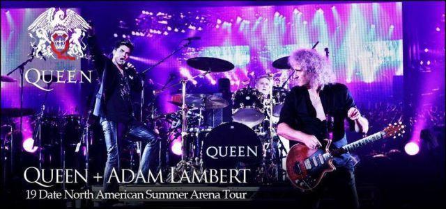 Queen & Adam Lambert Tickets (Uncasville) Mohegan Sun Arena 7/25/2014