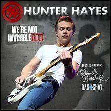 2 Hunter Hayes Tickets 5/03/14 (Uncasville) Mohegan Sun (Lower 24)
