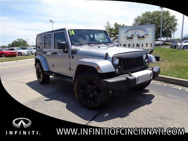2014 Jeep Wrangler Unlimited Convertible Sahara