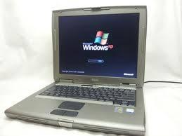 DELL D-505 Pentium 4 Laptop, powers up to a good LCD