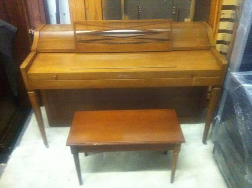 Antique Baldwin Acrosonic Upright Piano