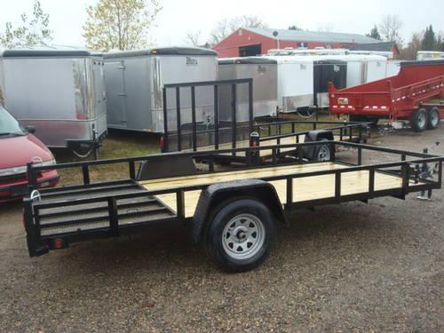 New 2013 open utility atv trailers for sale in somerset wisconsin
