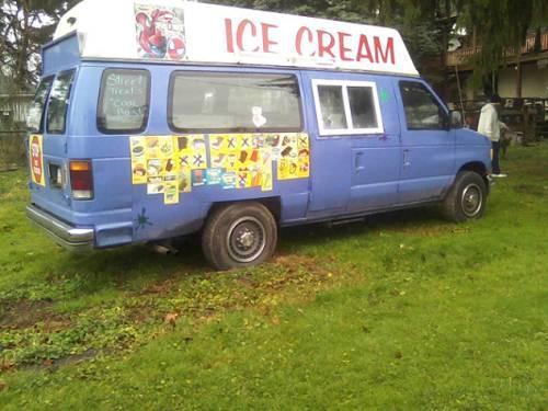 Ice Cream Truck! Nice van! 1993 Ford Econoline.