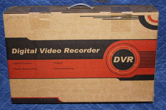 GW SECURITY DVR DIGITAL VIDEO RECORDER GW-6208HDSDI