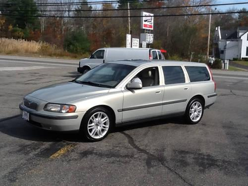 2001 Volvo V70 WAGON Station Wagon FWD LEATHER ROOF