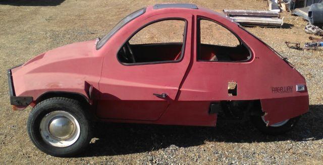 HMV Freeway 3 wheel Micro car