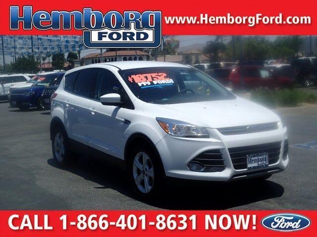 2015 Ford Escape SE White 6-Speed Automatic FWD