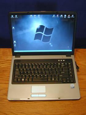 Nobilis Core 2 Duo 1.8GHz laptop, Widescreen, 2GB RAM, WiFi, DVD, SATA