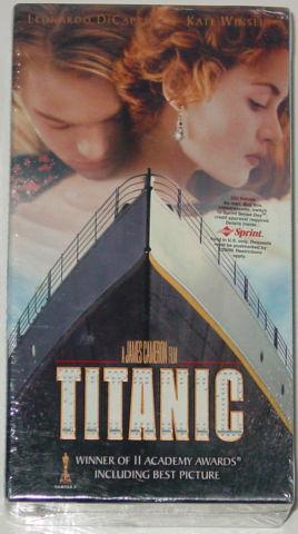 Titanic (VHS, 1998, 2-Tape Set, Widescreen) Kathy Bates Brand New