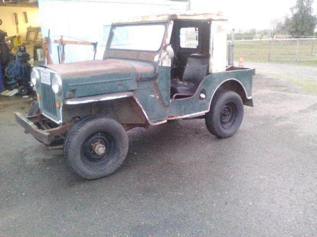 1953 Jeep Willys CJ3B