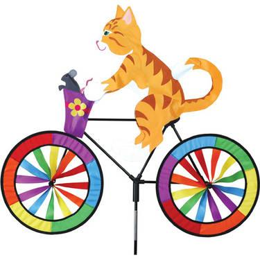 Kitty on Bike spinners Windgarden by Premire