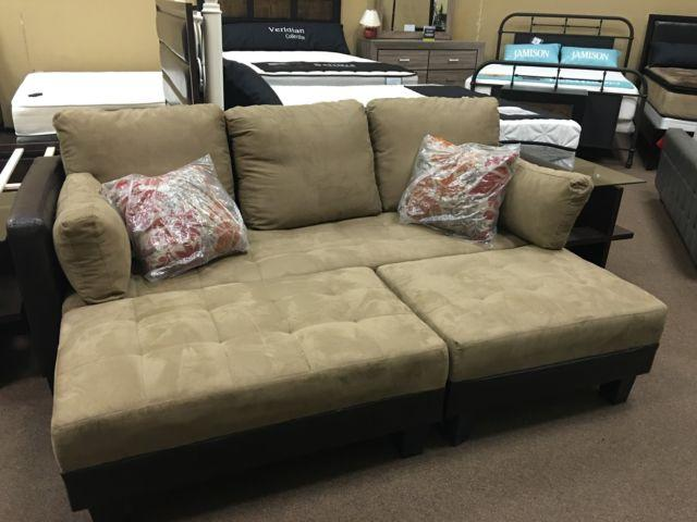 Awesome Sofa Bed with 2 ottoman!