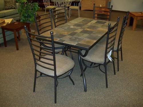 Ashley Furniture Antigo Rectangular Table With 4 Chairs